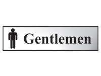 Scan Gentlemen - Chrome 200 x 50mm