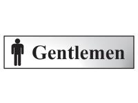 Scan Gentlemen - Chrome 200 x 50mm