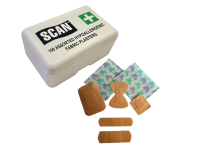Scan Hydroscopic Fabric Plasters 100 Assorted