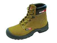 Scan Cougar Nubuck Safety Boots S1P UK 9 Euro 43