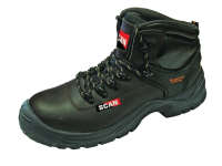 Scan Lynx Brown Safety Boots S1P UK 10 Euro 44