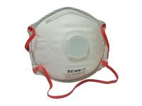 Scan Moulded Disposable Valved Masks (2) FFP3