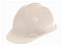 Scan Deluxe Safety Helmet White