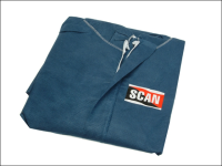 Scan Disposable Overall Blue - L (100-108cm)