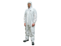 Scan Chemical Splash Resistant Disposable Coverall White Type 5/6 XL