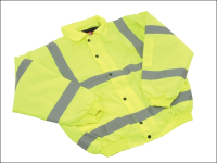 Scan Hi-Vis Bomber Jacket Yellow - L (42-44in)