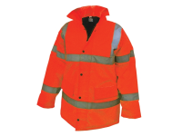 Scan Hi-Vis Bomber Jacket Orange - L (42-44in)