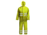 Scan Hi-Visibility Rain Suit Yellow - L