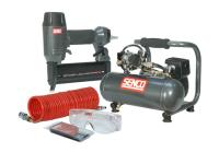 Senco Finish Pro 18 Pneumatic Nailer & 1 HP Compressor Kit 110 Volt 110V