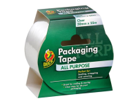 Shurtape Duck Tape® Packaging Tape Clear 50mm x 25m