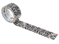 Shurtape Duck® Tape 48mm x 9.1m Zebra Crossing