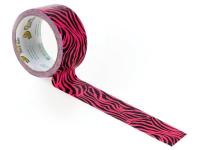 Shurtape Duck® Tape 48mm x 9.1m Pink Zebra