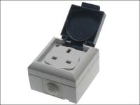 SMJ IP54 Outdoor Socket 13A Single Gang