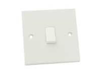 SMJ Lightswitch 1 Gang 1 Way 10Amp