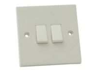 SMJ Lightswitch 2 Gang 2 Way 10Amp