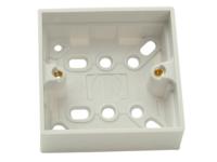 SMJ Surface Pattress Box Single 30mm Depth