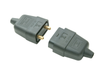 SMJ Black 10A 2 Pin Plug & Socket
