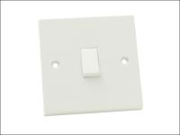 SMJ Light Switch 1 Gang 1 Way Trade Pack