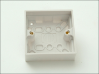 SMJ Surface Pattress Box 25mm 1 Gang