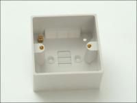 SMJ Surface Pattress Box 47mm 1 Gang