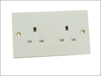 SMJ Unswitched Socket 2 Gang 13A