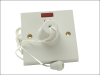 SMJ Ceiling Switch & Neon 45A Double Pole
