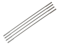 Stanley Tools Coping Saw Blades 165mm (6.1/2in) 14tpi Card (4)