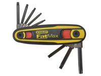 Stanley Tools FatMax Torx Key Locking Set of 8  (T9-T40)
