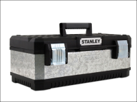 Stanley Tools Galvanised Metal Tool Box 20in