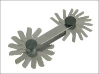 Starrett 156M Screw Pitch Gauge 0.25 - 2.50mm