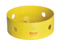 Starrett SH0434 High Speed Steel Bi-Metal Holesaw 121mm