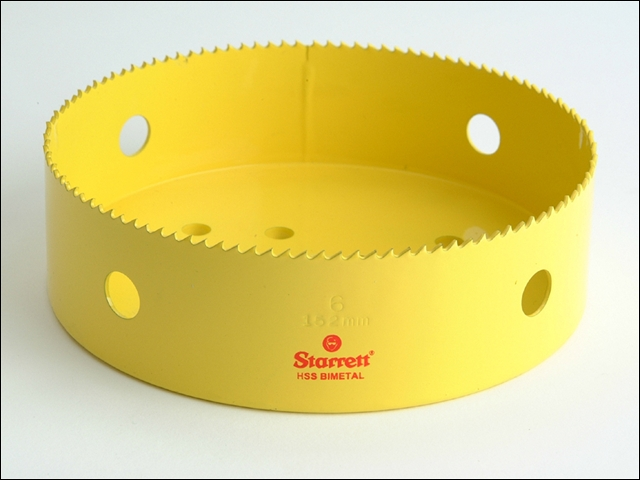 Starrett SH0600 High Speed Steel Bi-Metal Holesaw 152mm