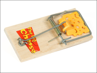 STV Pest-Free Living Baited Ready To Use Easyset Mouse Trap Twinpack