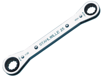 Stahlwille Ratchet Ring Spanner 1/2 x 9/16in
