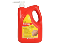 Swarfega Lemon Hand Cleaners Pump Top Bottle 4 Litre