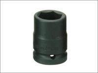 Teng Impact Socket Hexagon 6 Point 1/2in Drive 1/2in