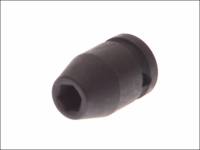 Teng Impact Socket Hexagon 6 Point 1/2in Drive 12mm
