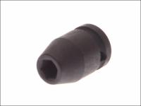 Teng Impact Socket Hexagon 6 Point 1/2in Drive 19mm