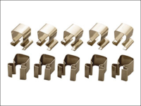 Teng 1/4in Socket Clips Pack of 10