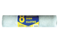 Tristar Cotton Dish Cloths (8) 43cm x 26cm