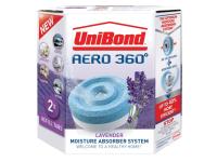 Unibond Aero 360 Moisture Absorber Lavender Refills Pack of 2