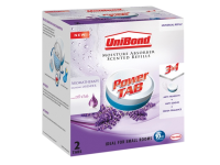 Unibond Small Moisture Absorber Lavender Power Tab Refill Pack of 2
