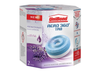 Unibond Aero 360 Moisture Absorber Aromatherapy Lavender Refills Pack of 2