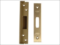 UNION StrongBOLT 2100 Mortice Deadlock Rebate Kit 13mm Polished Brass Box