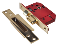 UNION StrongBOLT 2200S BS 5 Lever Mortice Sashlock Satin Brass 68mm Box