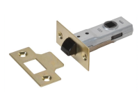 UNION J2600 Tubular Latch Essentials Polished Brass Finish 65mm 2.5in Boxed