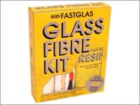 U-Pol Fastglas Resin & Glass Fibre Kit Large