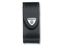 Victorinox Black Leather Belt Pouch (2-4 Layer)