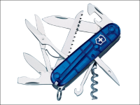 Victorinox Huntsman Swiss Army Knife Translucent Blue 13713T2NP
