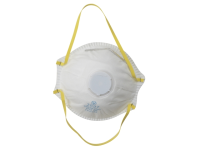 Vitrex Sanding & Loft Insulation Premium Valved Moulded Mask FFP1